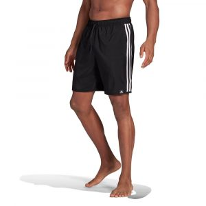 בגד ים אדידס לגברים Adidas Classic-Length 3-Stripes - שחור