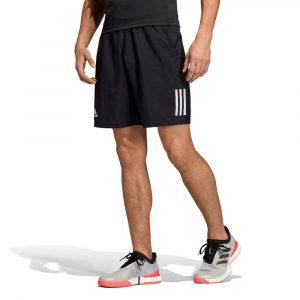 מכנס ספורט אדידס לגברים Adidas Club 3 Stripes 9 Inch - שחור