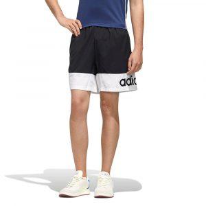 מכנס ספורט אדידס לגברים Adidas Designed 2 Move Colorblock - שחור/לבן