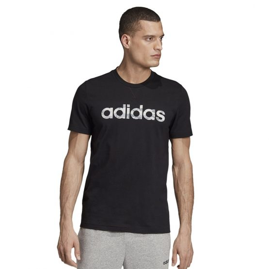 חולצת T אדידס לגברים Adidas E Camo Lin Tee - שחור