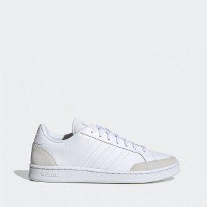 נעלי סניקרס אדידס לגברים Adidas Grand Court Se - לבן