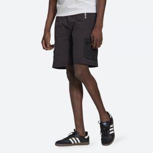 מכנס ספורט אדידס לגברים Adidas Originals Adventure Woven Cargo - שחור