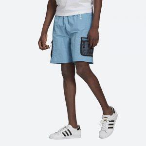 מכנס ספורט אדידס לגברים Adidas Originals Adventure Woven Cargo - כחול