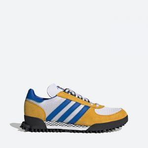 נעלי סניקרס אדידס לגברים Adidas Originals Marathon TR - צהוב
