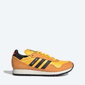 נעלי סניקרס אדידס לגברים Adidas Originals New York - כתום