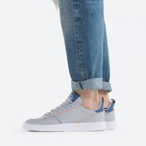 נעלי סניקרס אדידס לגברים Adidas Originals Supercourt - אפור