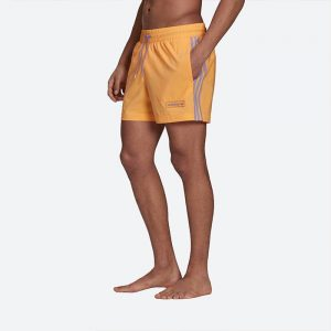 בגד ים אדידס לגברים Adidas Originals Swimshort - כתום
