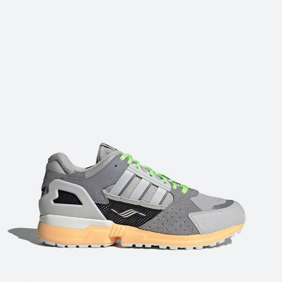 נעלי סניקרס אדידס לגברים Adidas Originals ZX 10,000 C - אפור