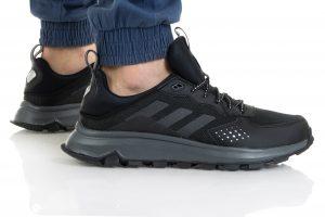 נעלי ריצת שטח אדידס לגברים Adidas RESPONSE TRAIL - שחור מלא