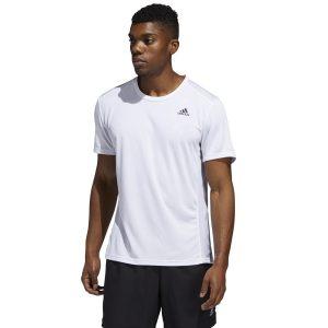 חולצת אימון אדידס לגברים Adidas Run It Tee - לבן