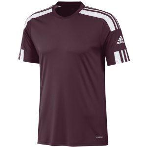 חולצת אימון אדידס לגברים Adidas SQUADRA 21 JSY - בורדו