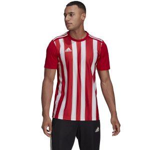חולצת אימון אדידס לגברים Adidas STRIPED 21 - לבן/אדום