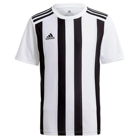 חולצת אימון אדידס לגברים Adidas STRIPED 21 - לבן/שחור