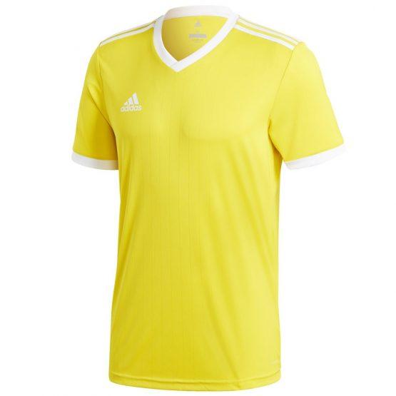 חולצת אימון אדידס לגברים Adidas Tabela 18 - לבן/צהוב