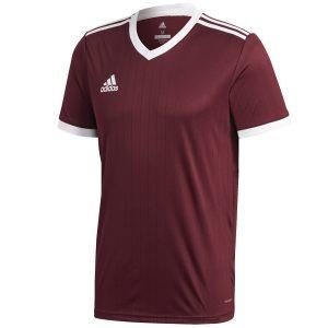 חולצת אימון אדידס לגברים Adidas Tabela 18 - בורדו