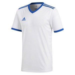חולצת אימון אדידס לגברים Adidas Tabela 18 - לבן/ כחול