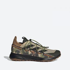 נעלי טיולים אדידס לגברים Adidas Terrex Voyager 21 - ירוק זית