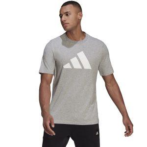 חולצת T אדידס לגברים Adidas adidas M FI Tee - אפור