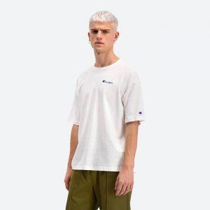 חולצת T צ'מפיון לגברים Champion Crewneck T - לבן