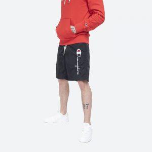 בגד ים צ'מפיון לגברים Champion beach shorts - שחור