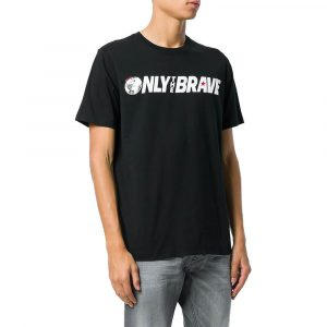 חולצת T דיזל לגברים DIESEL T-Just SV - שחור
