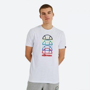 חולצת T אלסה לגברים Ellesse Magario - לבן