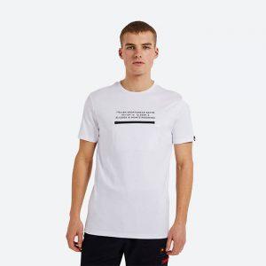 חולצת T אלסה לגברים Ellesse Piedmont - לבן