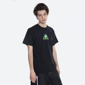 חולצת T HUF לגברים HUF Digital Dream Triple Triangle - שחור