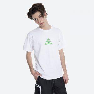 חולצת T HUF לגברים HUF Digital Dream Triple Triangle - לבן