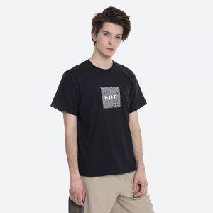 חולצת T HUF לגברים HUF Feels - שחור