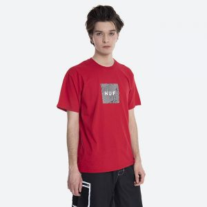 חולצת T HUF לגברים HUF Feels - אדום