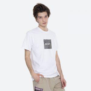 חולצת T HUF לגברים HUF Feels - לבן