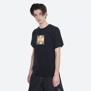 חולצת T HUF לגברים HUF Mix Box Logo - שחור