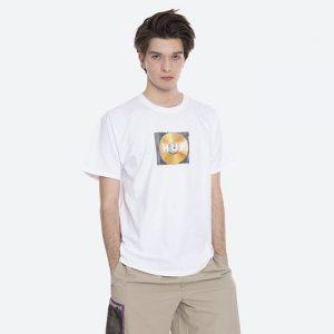 חולצת T HUF לגברים HUF Mix Box Logo - לבן