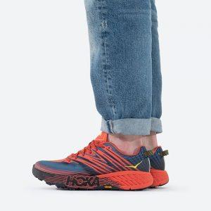 נעלי ריצה הוקה לגברים Hoka One One Speedgoat 4 - אדום