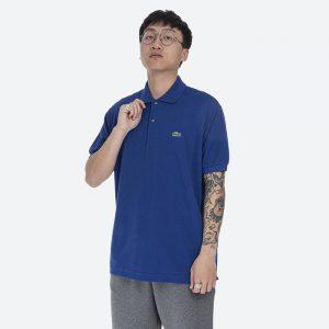 חולצת פולו לקוסט לגברים LACOSTE Classic Fit - כחול