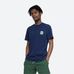 חולצת T לקוסט לגברים LACOSTE Club Badge - כחול