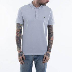 חולצת פולו לקוסט לגברים LACOSTE Petit Pique - אפור