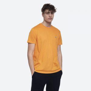 חולצת T לקוסט לגברים LACOSTE Pima - כתום