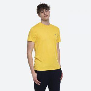 חולצת T לקוסט לגברים LACOSTE Pima - צהוב