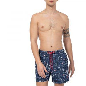 בגד ים נאוטיקה לגברים Nautica Quick Dry - כחול