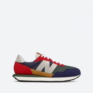 נעלי סניקרס ניו באלאנס לגברים New Balance MS237 - צבעוני בהיר
