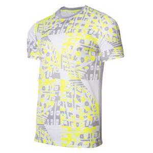חולצת אימון נייק לגברים Nike Dry Academy Top FP - צבעוני/לבן