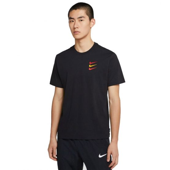 חולצת T נייק לגברים Nike FC Tee FF1 - שחור