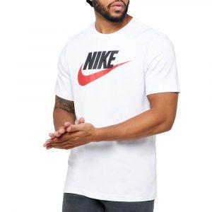חולצת T נייק לגברים Nike NSW Icon Futura Tee - לבן