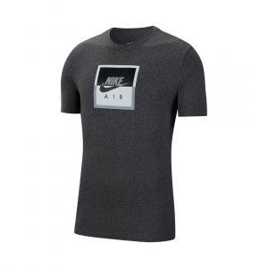 חולצת T נייק לגברים Nike NSW SS TEE AIR SSNL - אפור