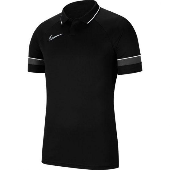 חולצת פולו נייק לגברים Nike Polo Dry Academy 21 - שחור
