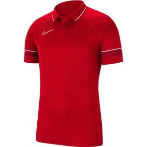 חולצת פולו נייק לגברים Nike Polo Dry Academy 21 - אדום