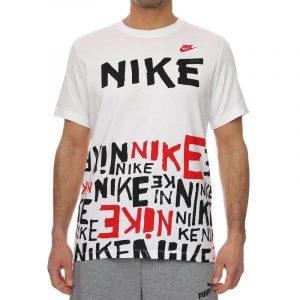 חולצת T נייק לגברים Nike Printed - לבן