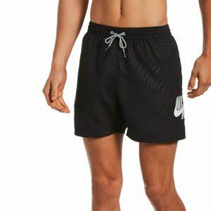 בגד ים נייק לגברים Nike Volley Palms - שחור